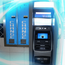 ATM and Change Machine