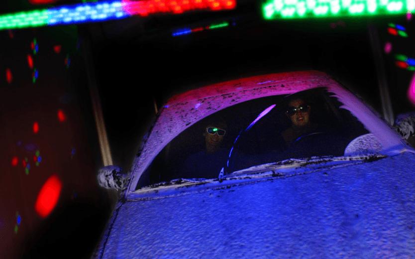 Happy Cow Car Wash El Cajon Photo Gallery - Car laser light show